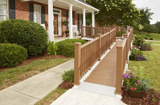 Access Homes outside ramps