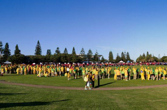 Special Olympics Closing Ceremony