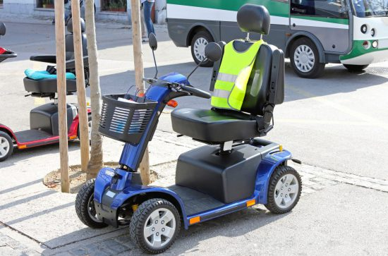 Mobility Scooter Electric Vehicle For Handicapped Transport