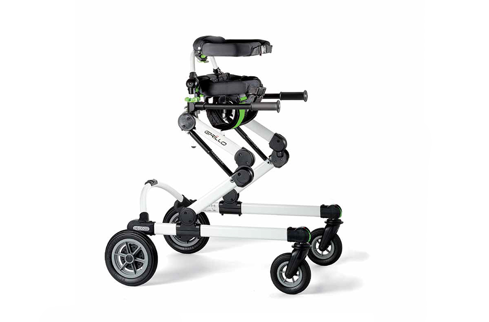 Ormesa Grillo Gait Trainer Two Models In One Frame