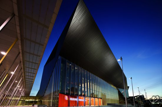 Melbourne Convention Centre Location: Melbourne Australia Architects: NH Architecture & Woods Bagot